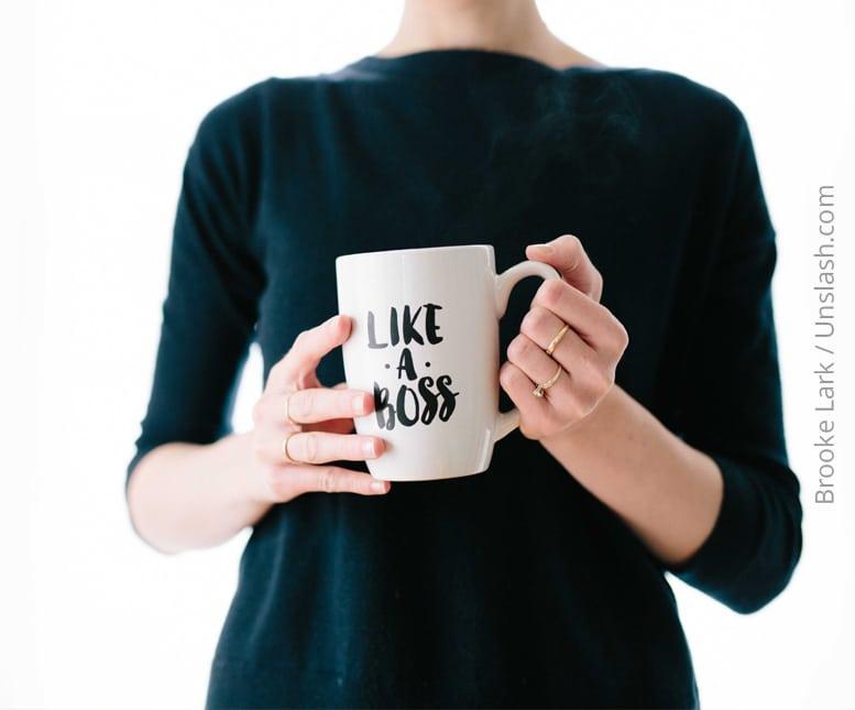 """Sei deine eigene Chefin und tue als """"ihre Angestellte"""" was sie dir sagt"""